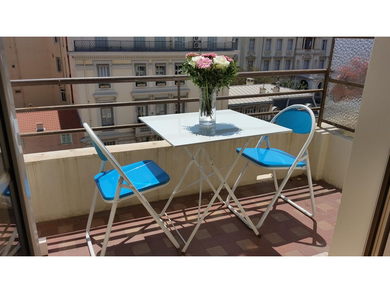 Quartier Negresco 2 P + balcon